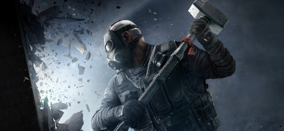 """A promotional image for the game """"Tom Clancy's Rainbow Six Siege"""""""